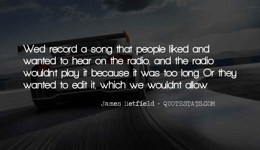 Hetfield Quotes #893605