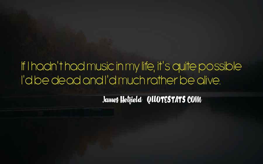 Hetfield Quotes #920230