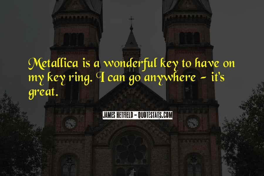 Hetfield Quotes #931376