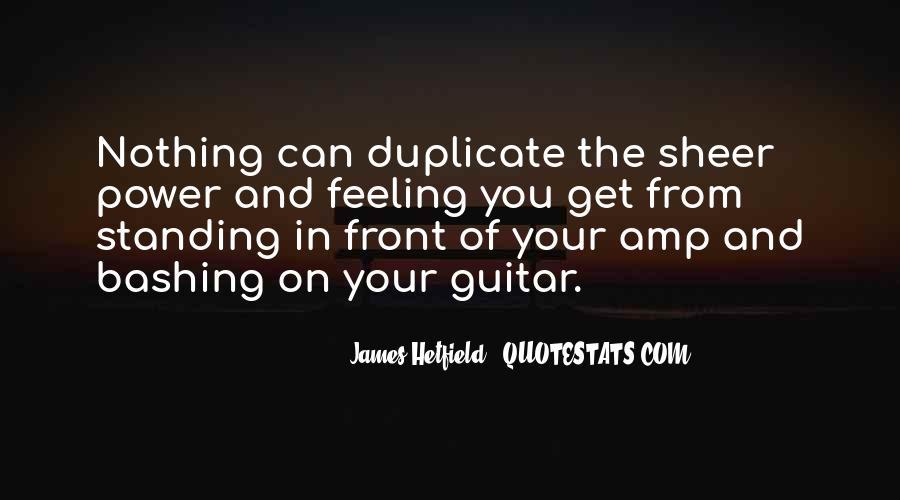 Hetfield Quotes #94887