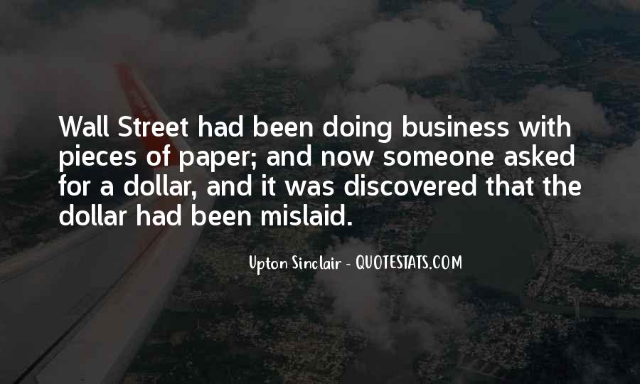 Quotes About Mine Your Own Business #2378