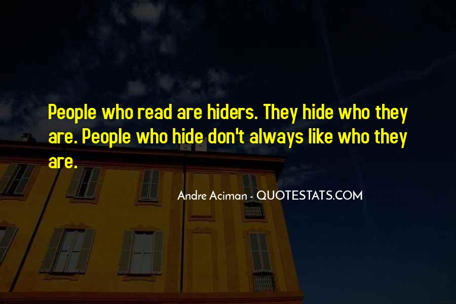 Hiders Quotes #819966