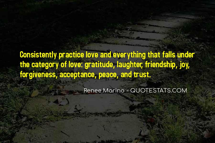 Quotes About Love Trust And Friendship #1355384