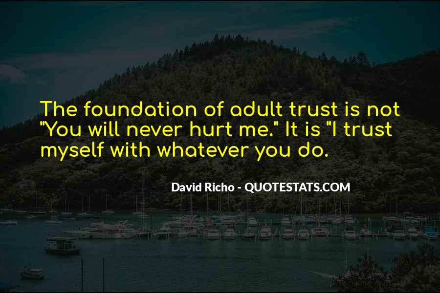 Quotes About Love Trust And Friendship #1396384