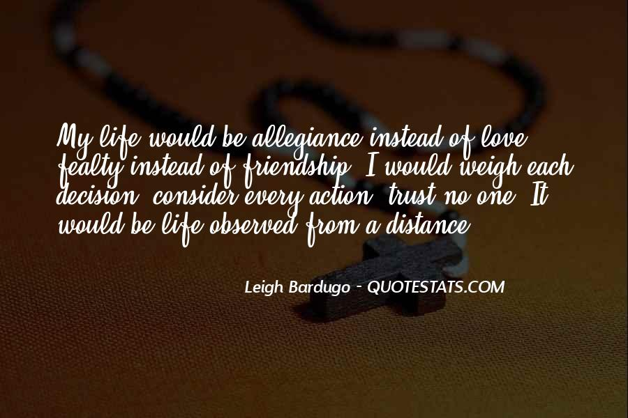 Quotes About Love Trust And Friendship #1485297