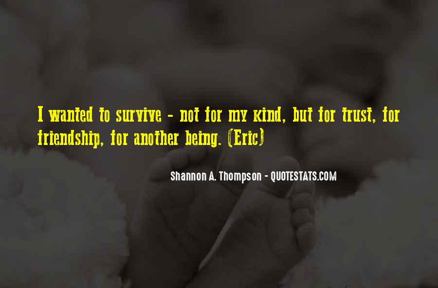 Quotes About Love Trust And Friendship #660516