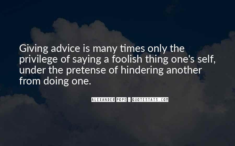 Hindering Quotes #778900