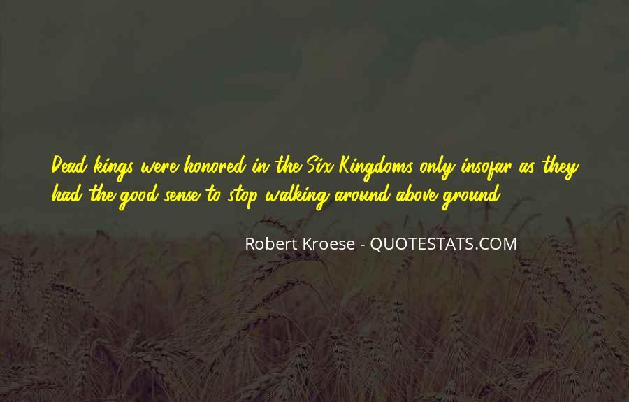 Quotes About Six Sense #1352598
