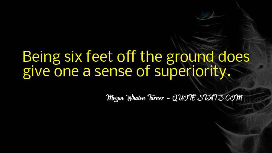 Quotes About Six Sense #1706788