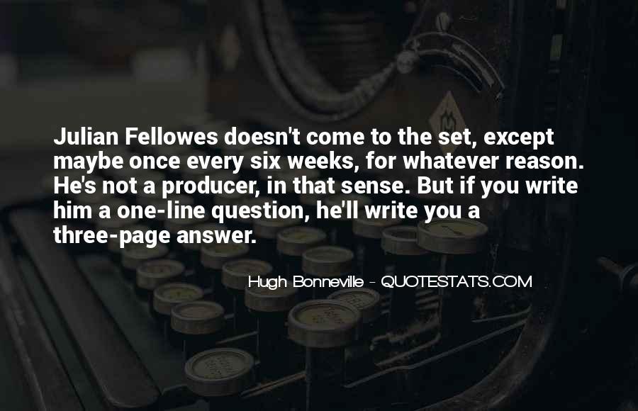 Quotes About Six Sense #425707