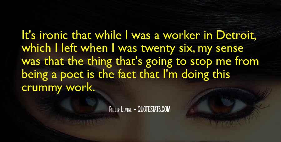 Quotes About Six Sense #987496