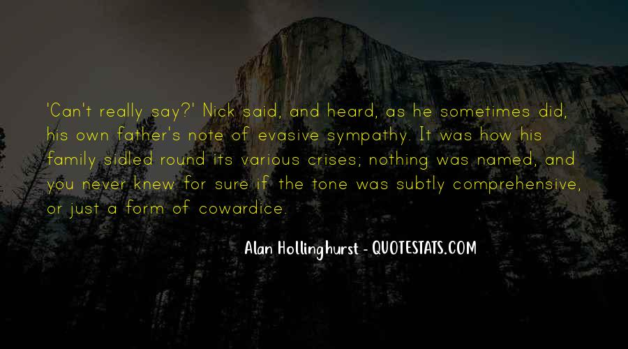 Hollinghurst Quotes #1264629