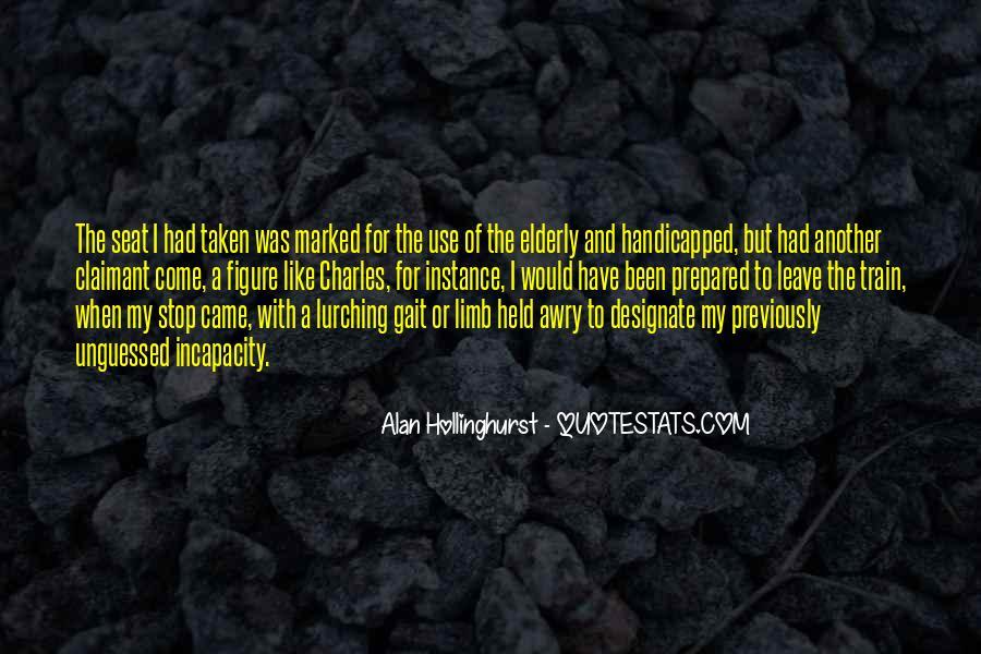 Hollinghurst Quotes #1543449