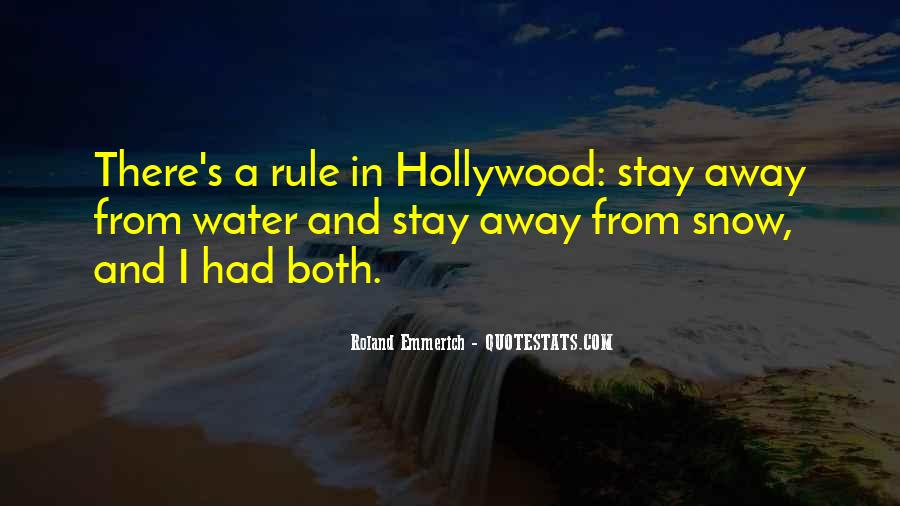 Hollywood's Quotes #109900