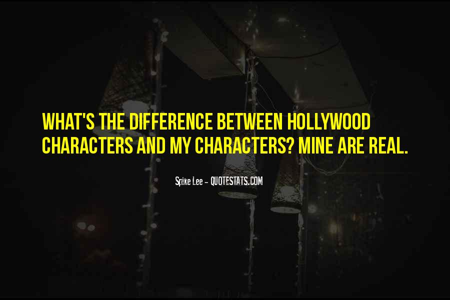 Hollywood's Quotes #117408