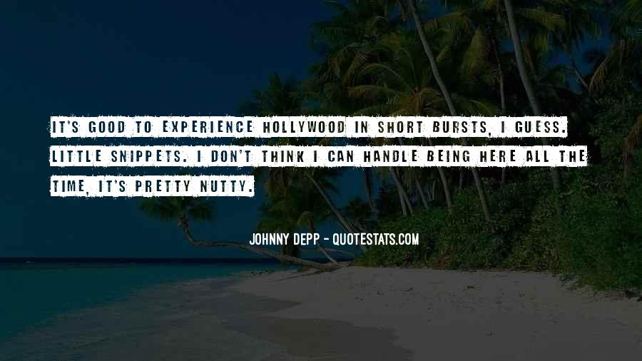 Hollywood's Quotes #129747