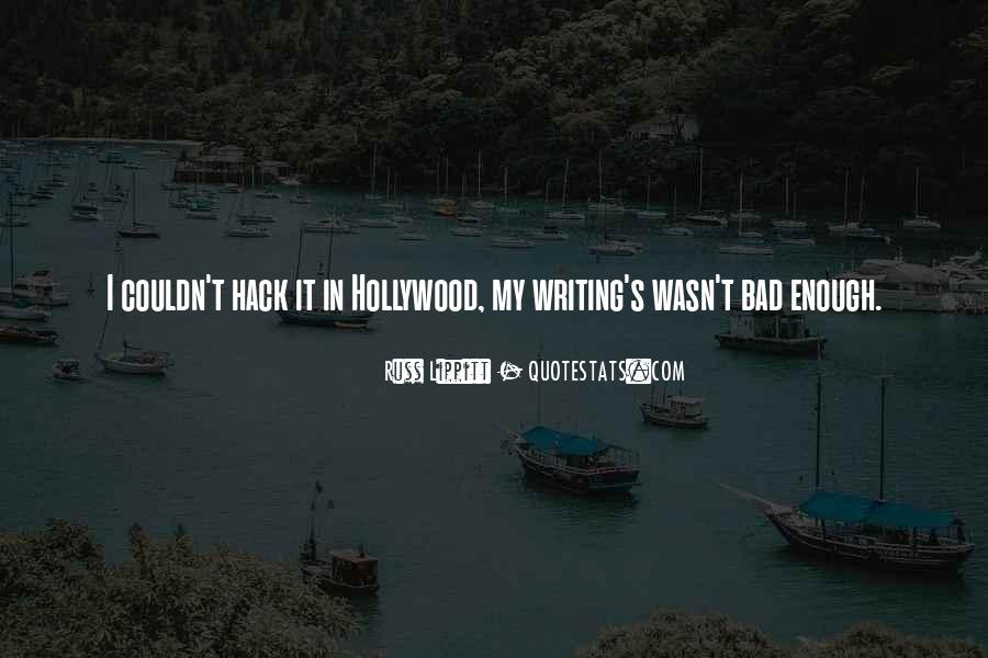 Hollywood's Quotes #131137