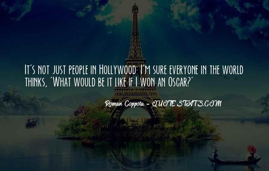 Hollywood's Quotes #132717
