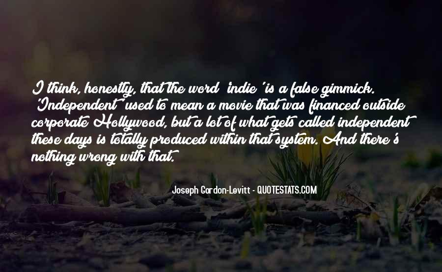 Hollywood's Quotes #14213