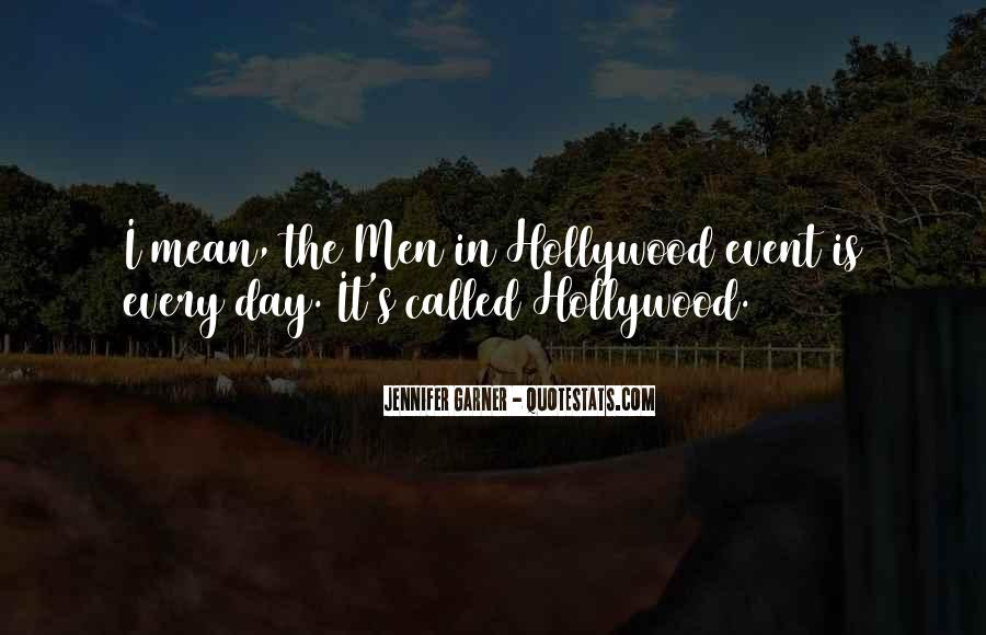 Hollywood's Quotes #159379