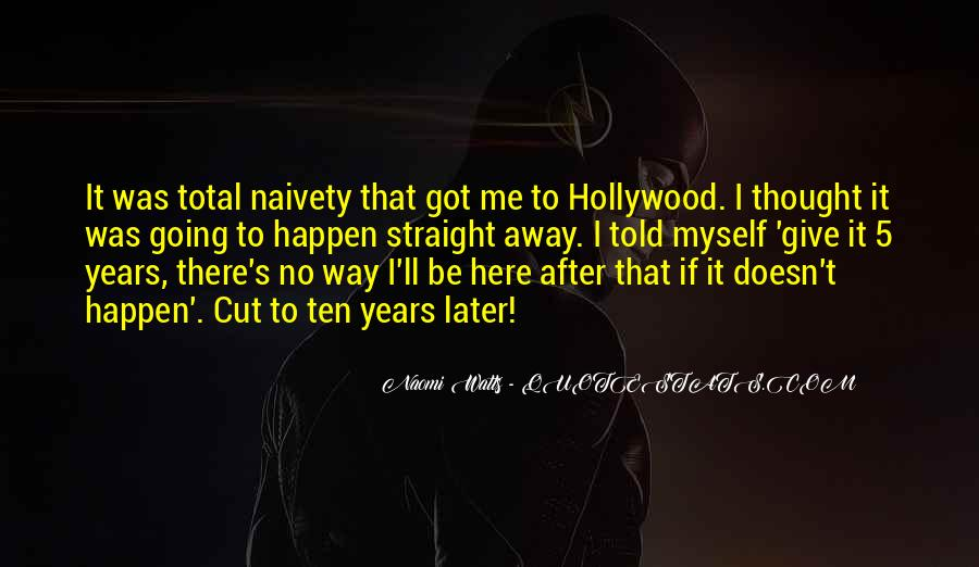 Hollywood's Quotes #166866
