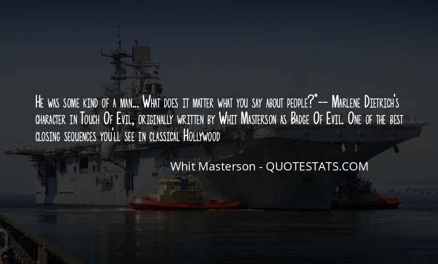 Hollywood's Quotes #167355
