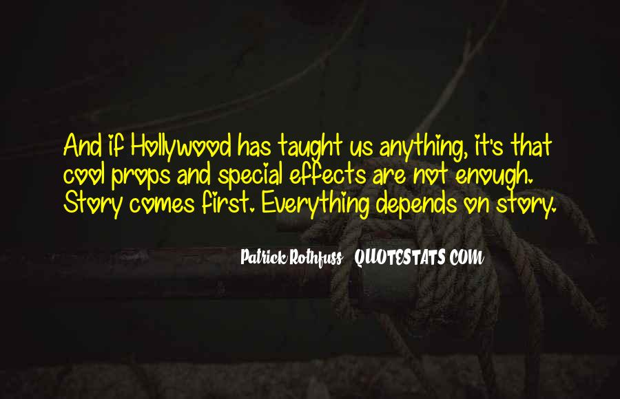 Hollywood's Quotes #29268