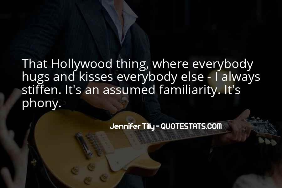 Hollywood's Quotes #34447