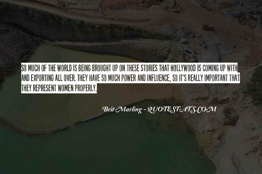 Hollywood's Quotes #36865