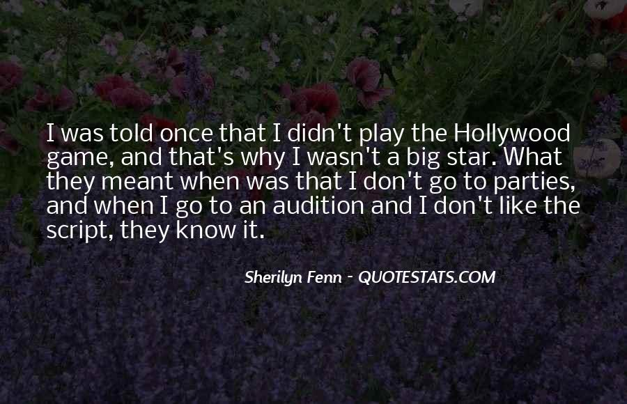 Hollywood's Quotes #54083