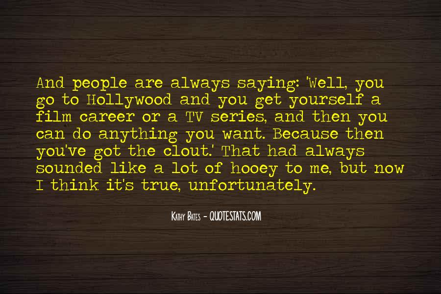Hollywood's Quotes #57226