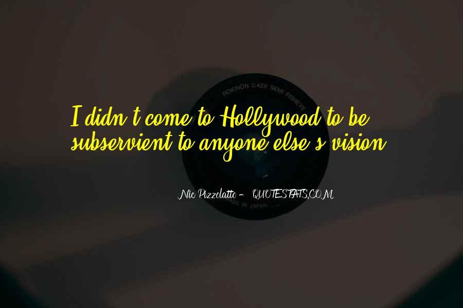 Hollywood's Quotes #71518