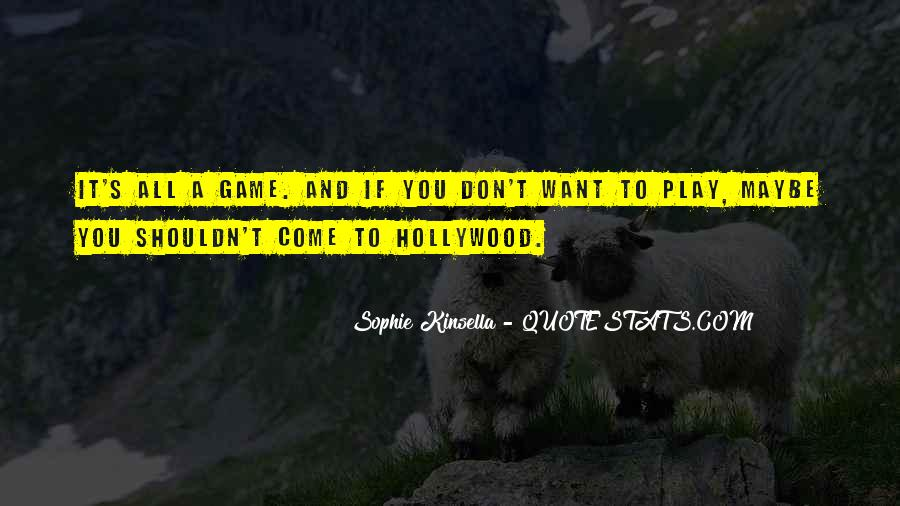 Hollywood's Quotes #76752