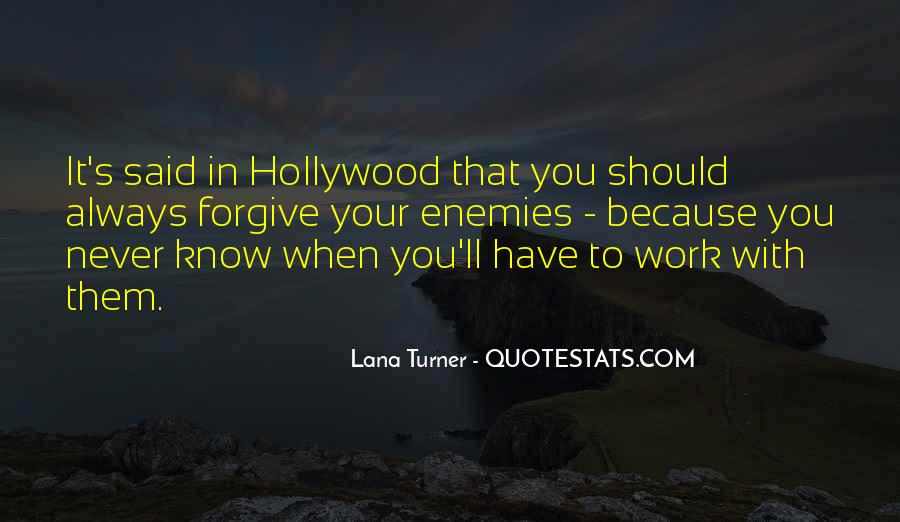 Hollywood's Quotes #83160