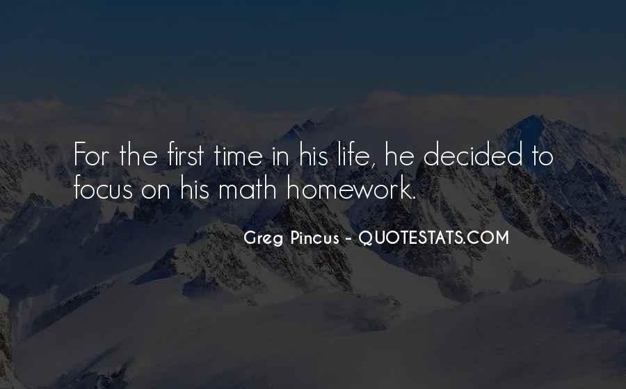 Homework's Quotes #1073284