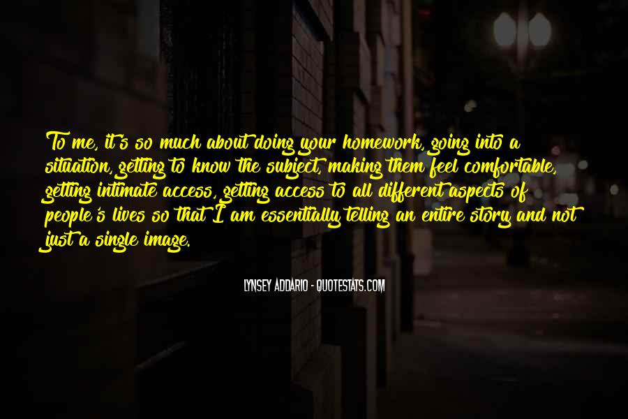 Homework's Quotes #127471