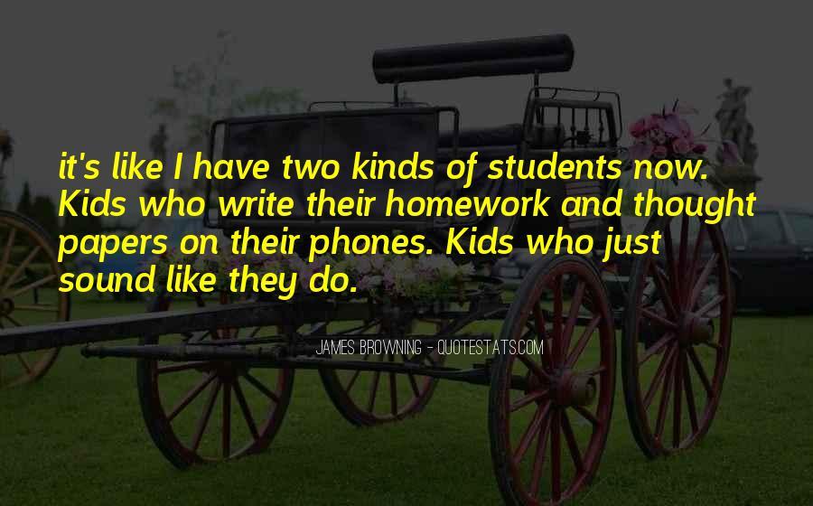 Homework's Quotes #1314497