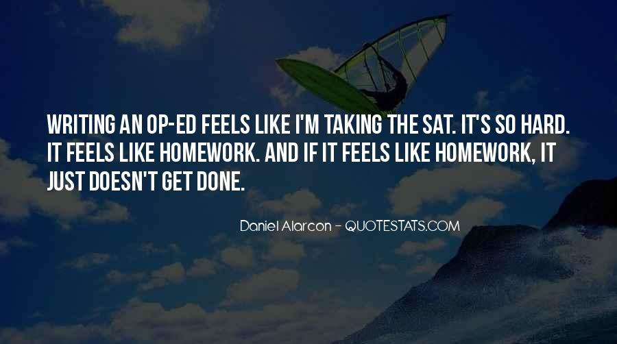 Homework's Quotes #1343032