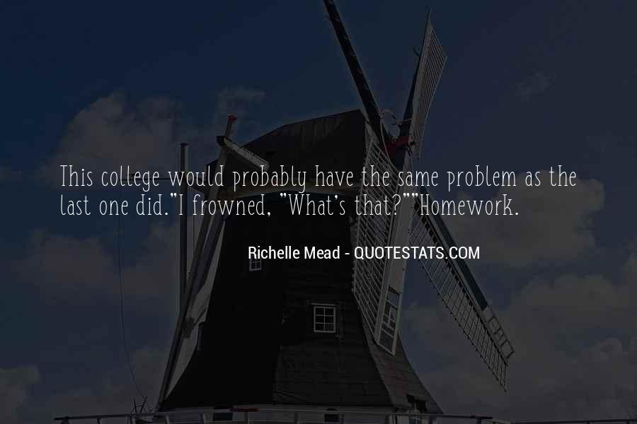 Homework's Quotes #1415240