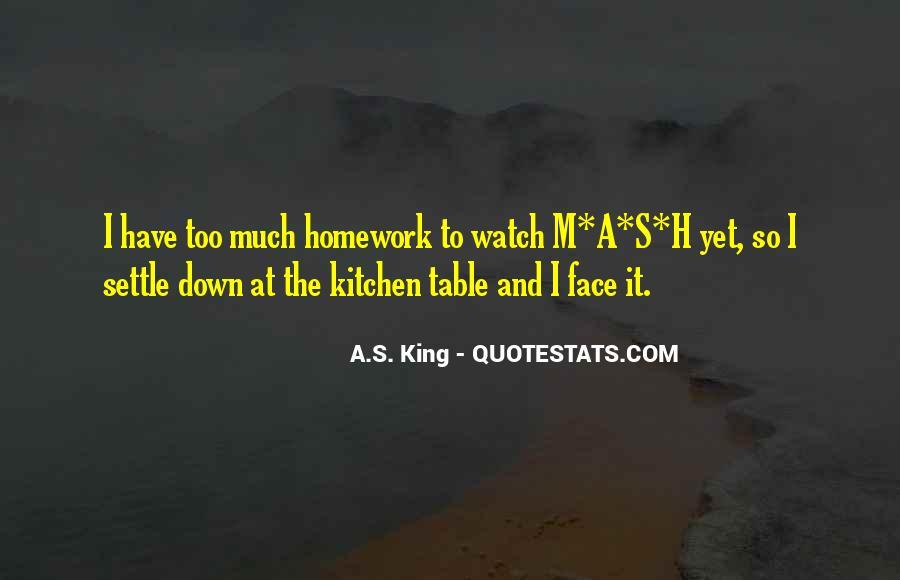 Homework's Quotes #254525