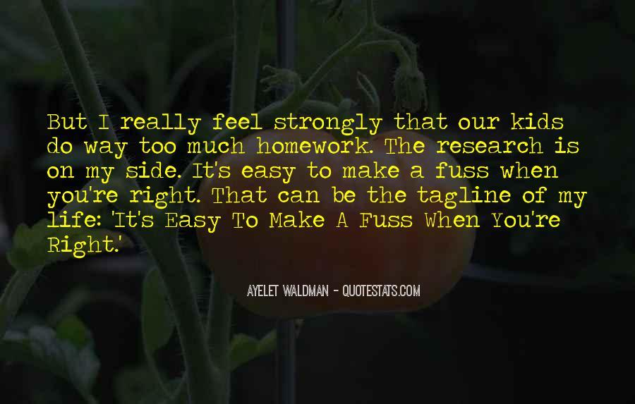 Homework's Quotes #281723