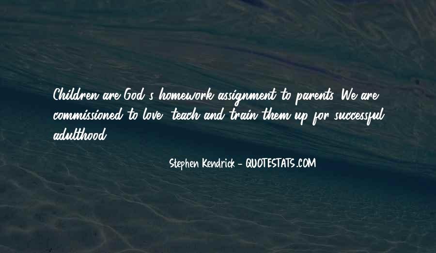 Homework's Quotes #325714