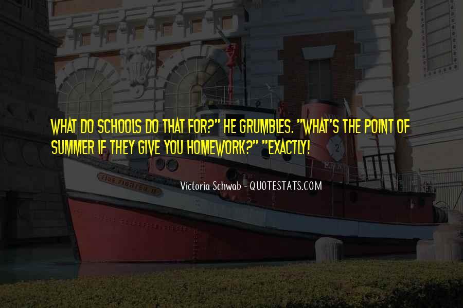 Homework's Quotes #363827