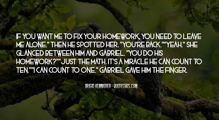 Homework's Quotes #388576