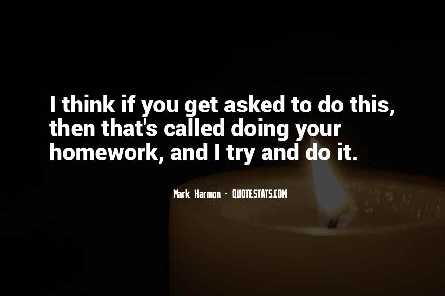 Homework's Quotes #411452