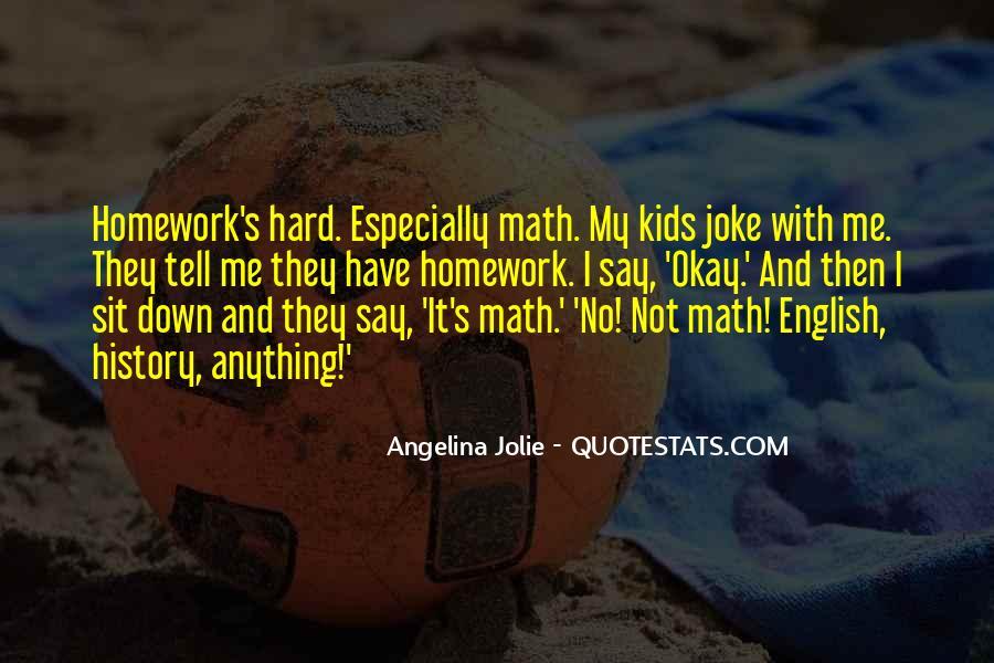 Homework's Quotes #57929