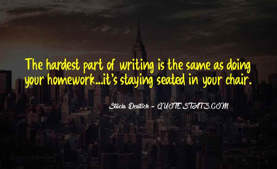 Homework's Quotes #820441