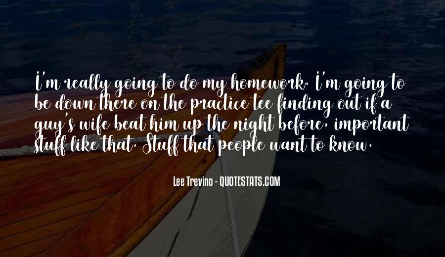 Homework's Quotes #888450