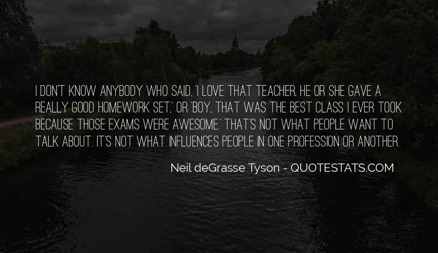 Homework's Quotes #970800