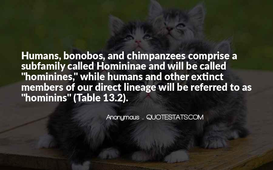 Hominins Quotes #449740